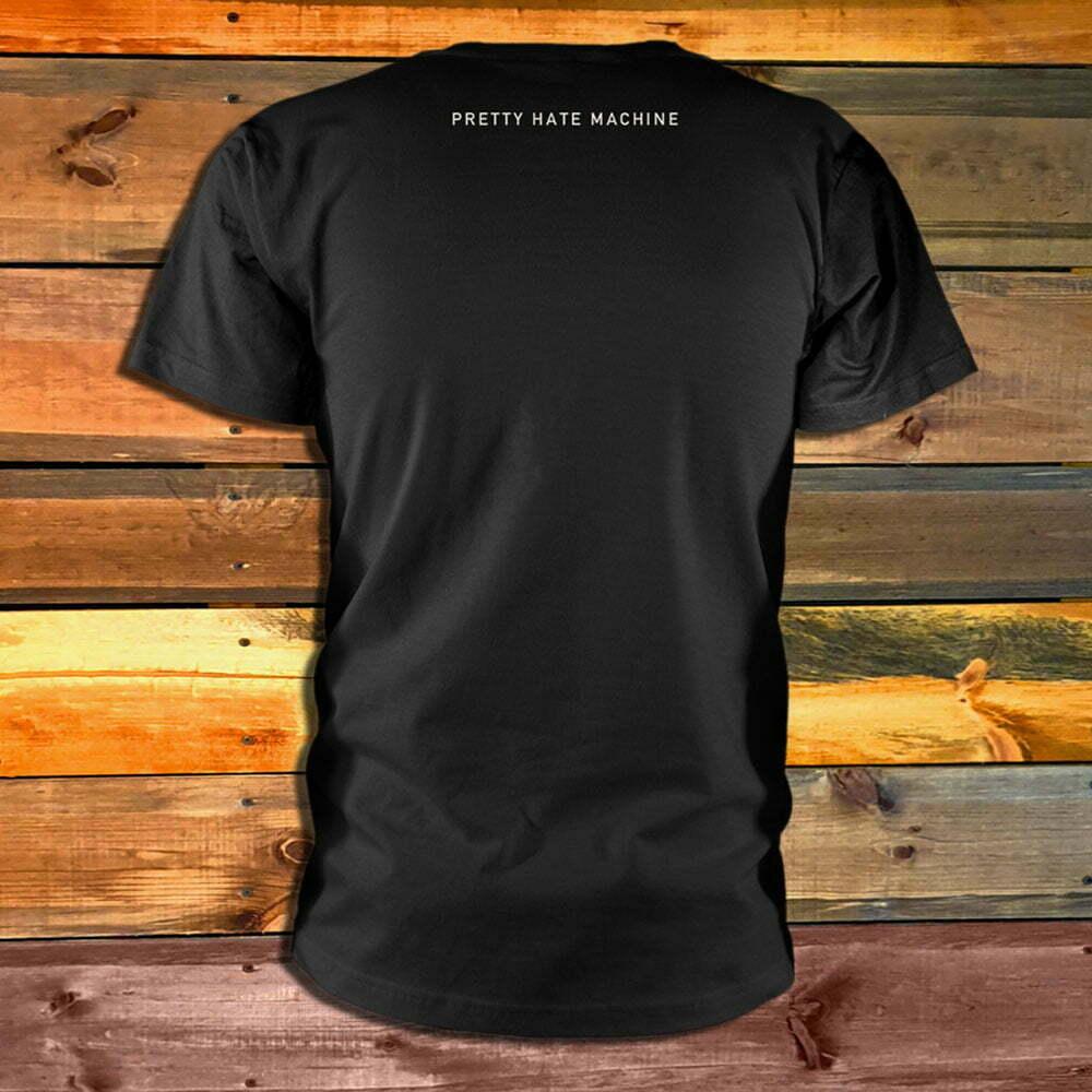Тениска Nine Inch Nails Pretty Hate Machine гръб