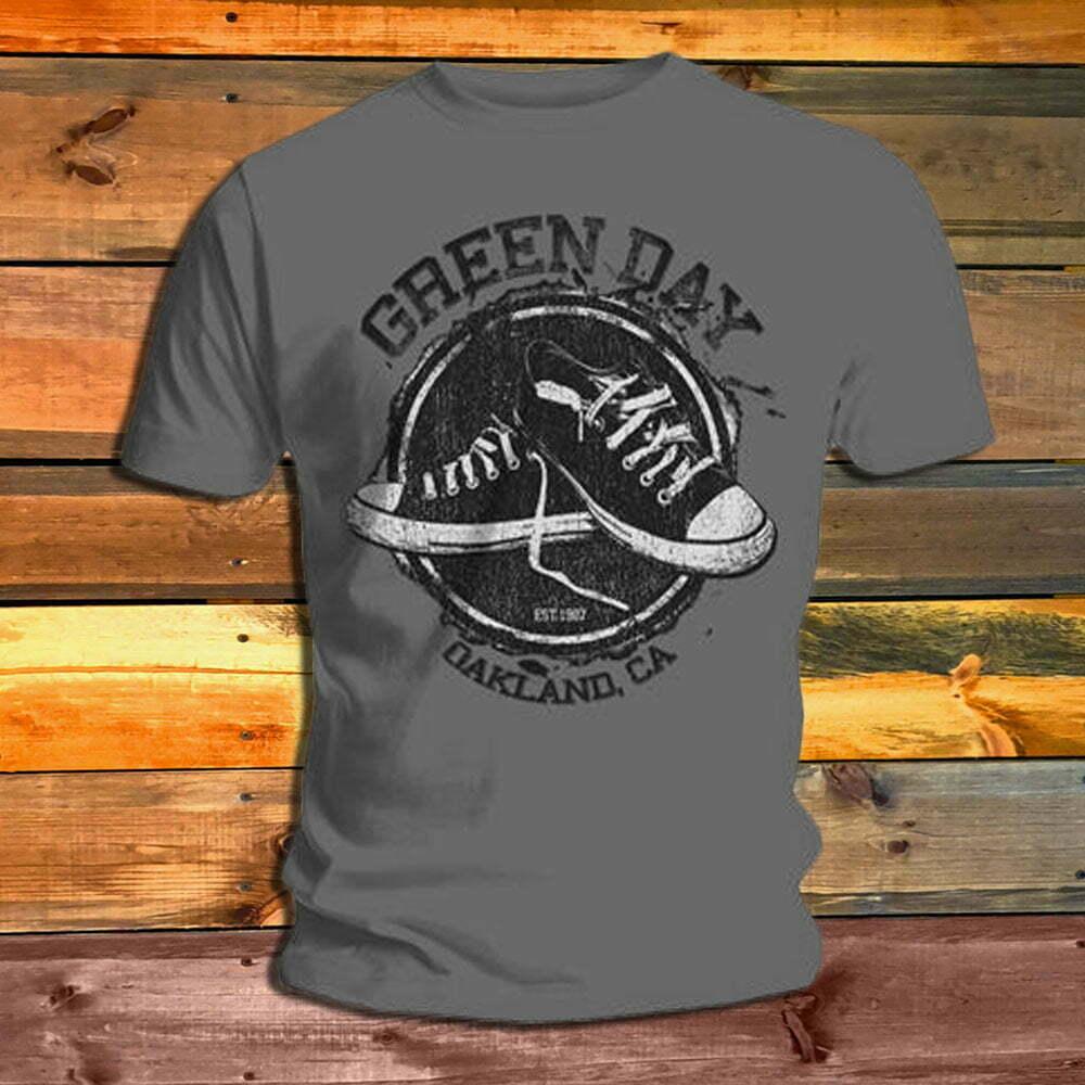 Тениска Green Day Converse