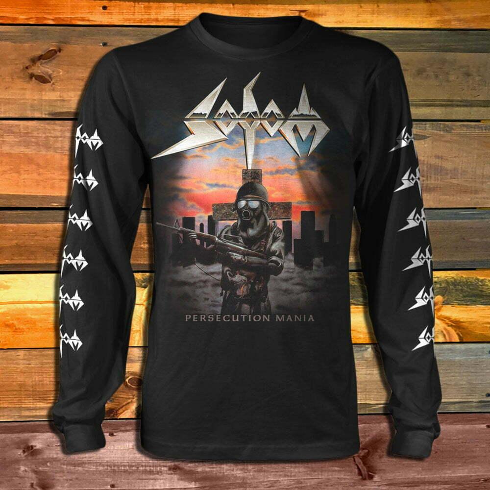 Тениска с дълъг ръкав Sodom Persecution Mania