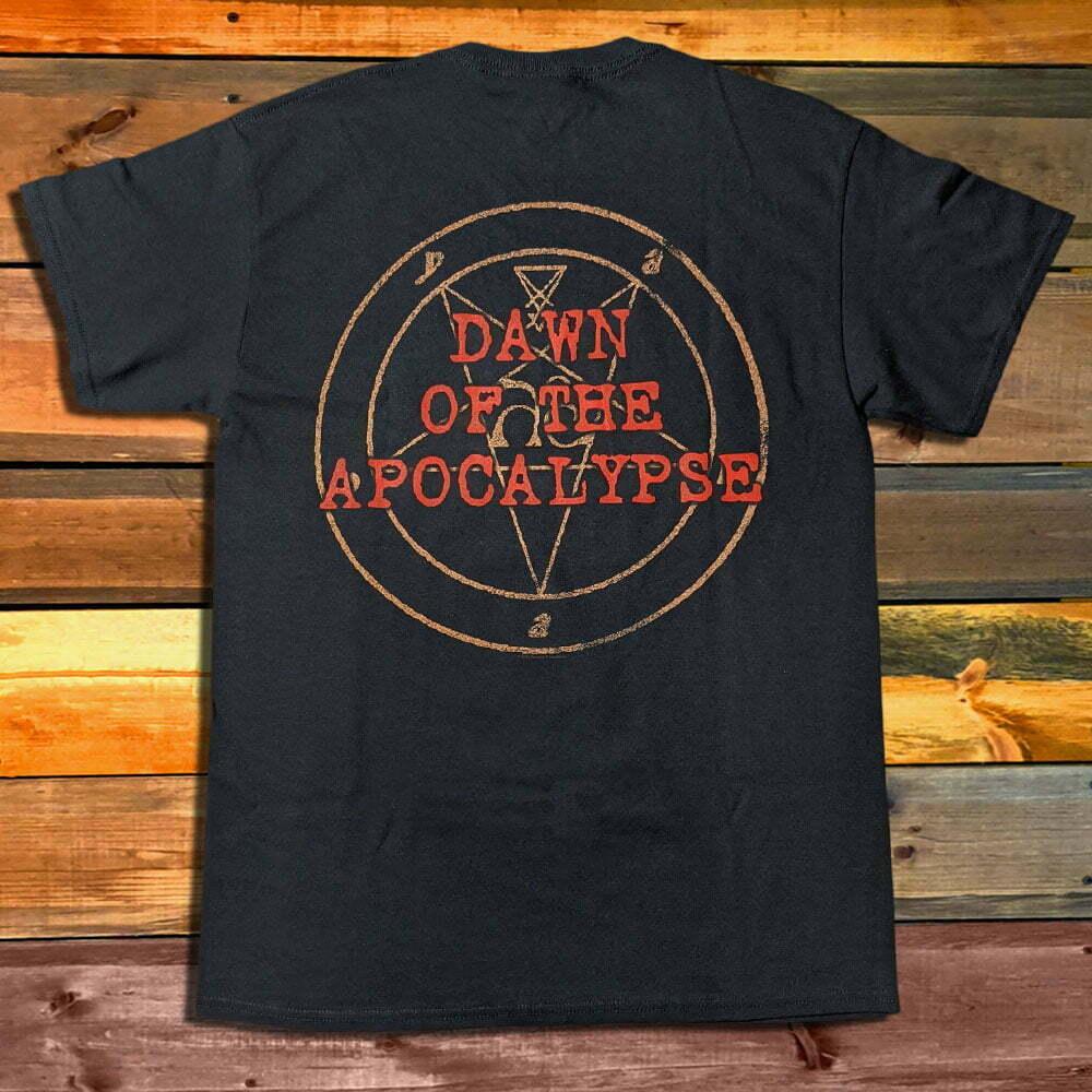 Тениска Vital Remains Dawn Of The Apocalypse гръб
