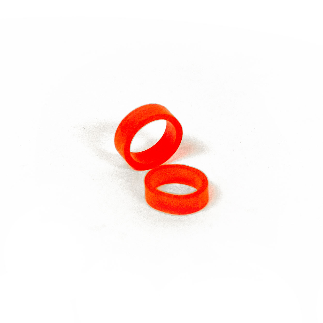 Band of Rebels - elastic RED silicon rubber band for tattoo cartridges - REBEL