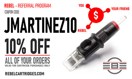Referral program - Jose Martinez - Affiliation - REBEL