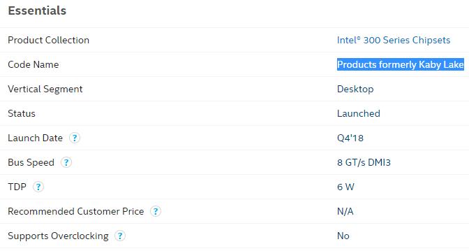 Intel B365