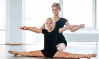 Гимнастика для детей. Со скольки лет?