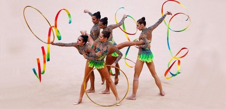 Гимнастические снаряды для художественной гимнастики