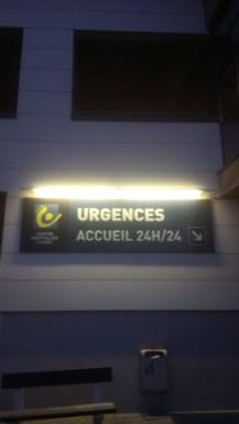 Petit tour aux urgences