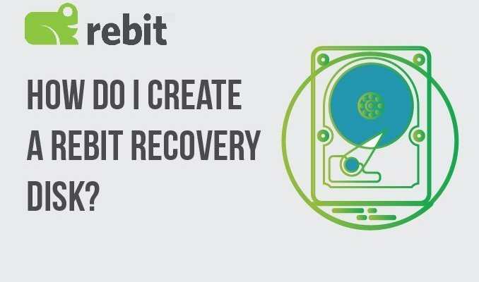 How Do I Create a Rebit Recovery Disk?