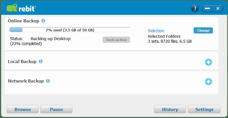 Rebit-Screen in Use
