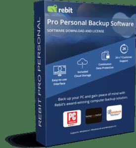 Rebit Pro Personal 3D Box Cover