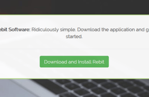 Download en installeer Rebit back-upsoftware