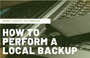 How to Perform a Local Backup | Quick Tip Series