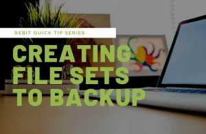 How to choose specific file sets to backup