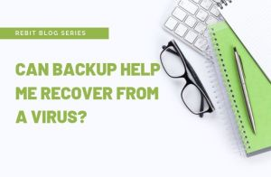 Backup after a virus