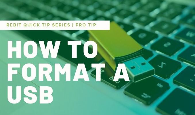 How to Format A USB Drive? | Rebit