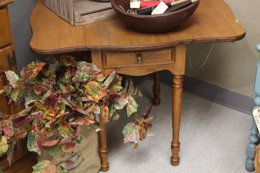 Small Drop Leaf Table $95 Unpainted $145 Painted SCH1011 33 3/4 W x 27 1/2 D x 25 1/2 T