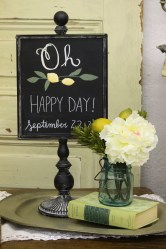 Chalkboard on Stand $10