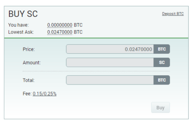 siacoin transaction
