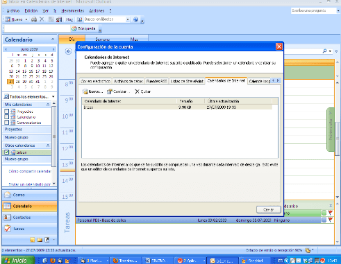 Tutorial para sincronizar Google Calendar con Outlook (4/6)