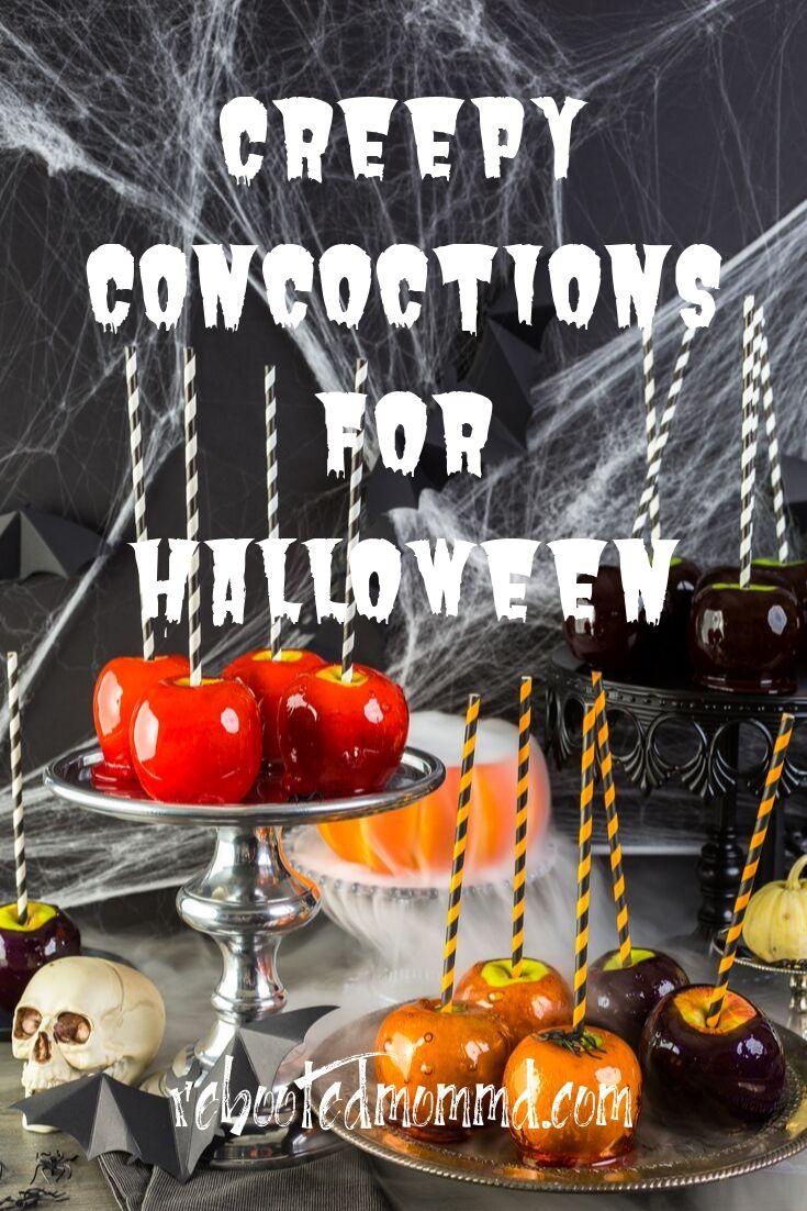 Freaky Food & Creepy Concoction Halloween Recipes