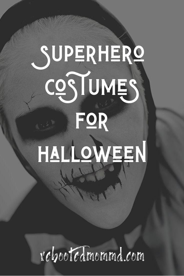 6 Superhero Costumes for Halloween
