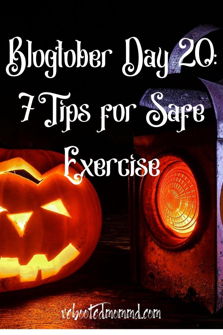 7 Tips for Safe Exercising