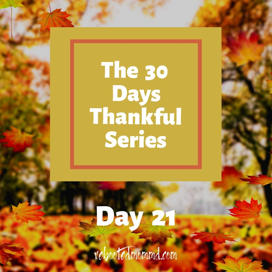 30 thankful days memories