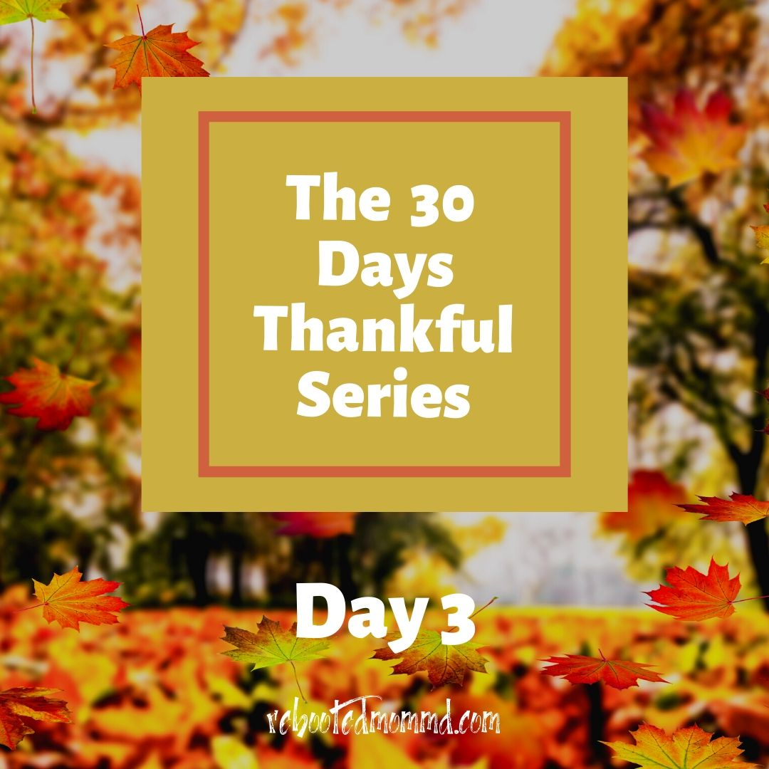 thankful days day 3 help