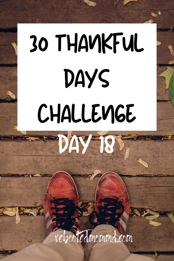 Day 18: Thankful for  Technology and its Power for Good