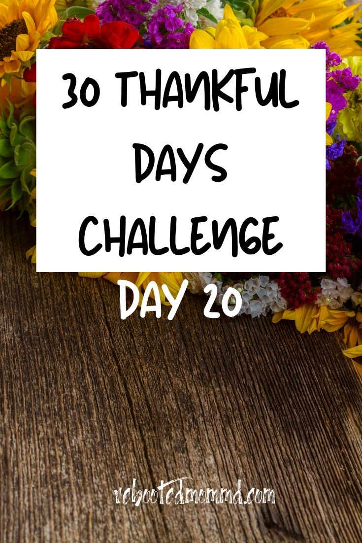 Day 20: Thankful for the Morning