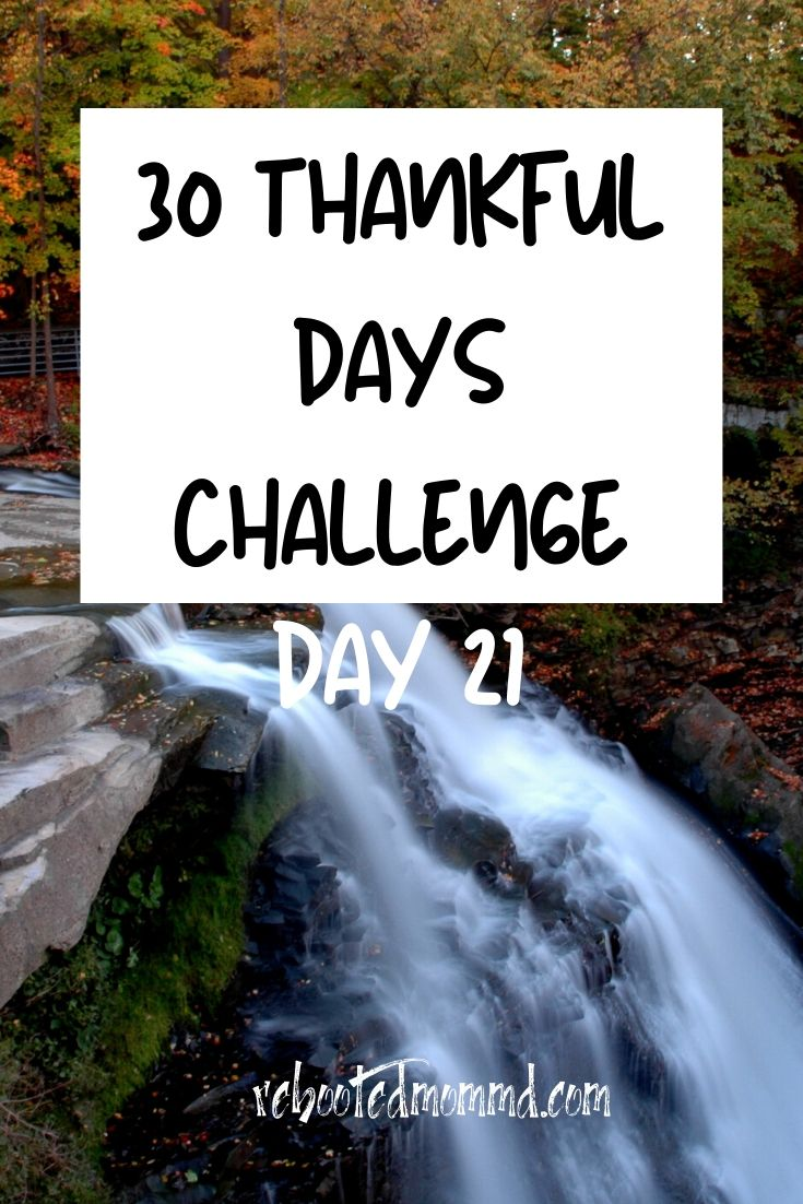 Day 21: Thankful for Special Memories