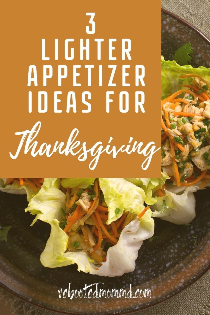 Thanksgiving: Try These Lighter Appetizers