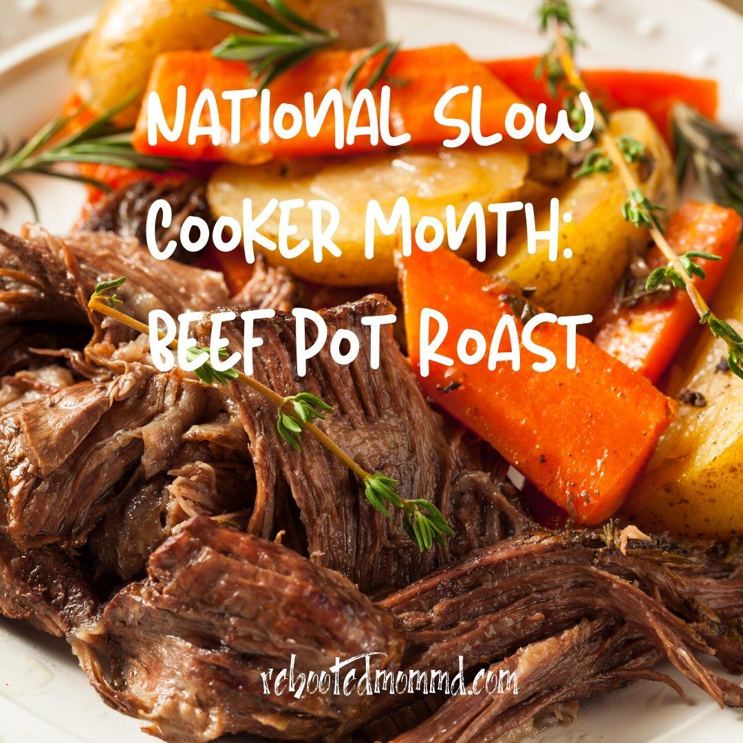 slow cooker challenge pot roast