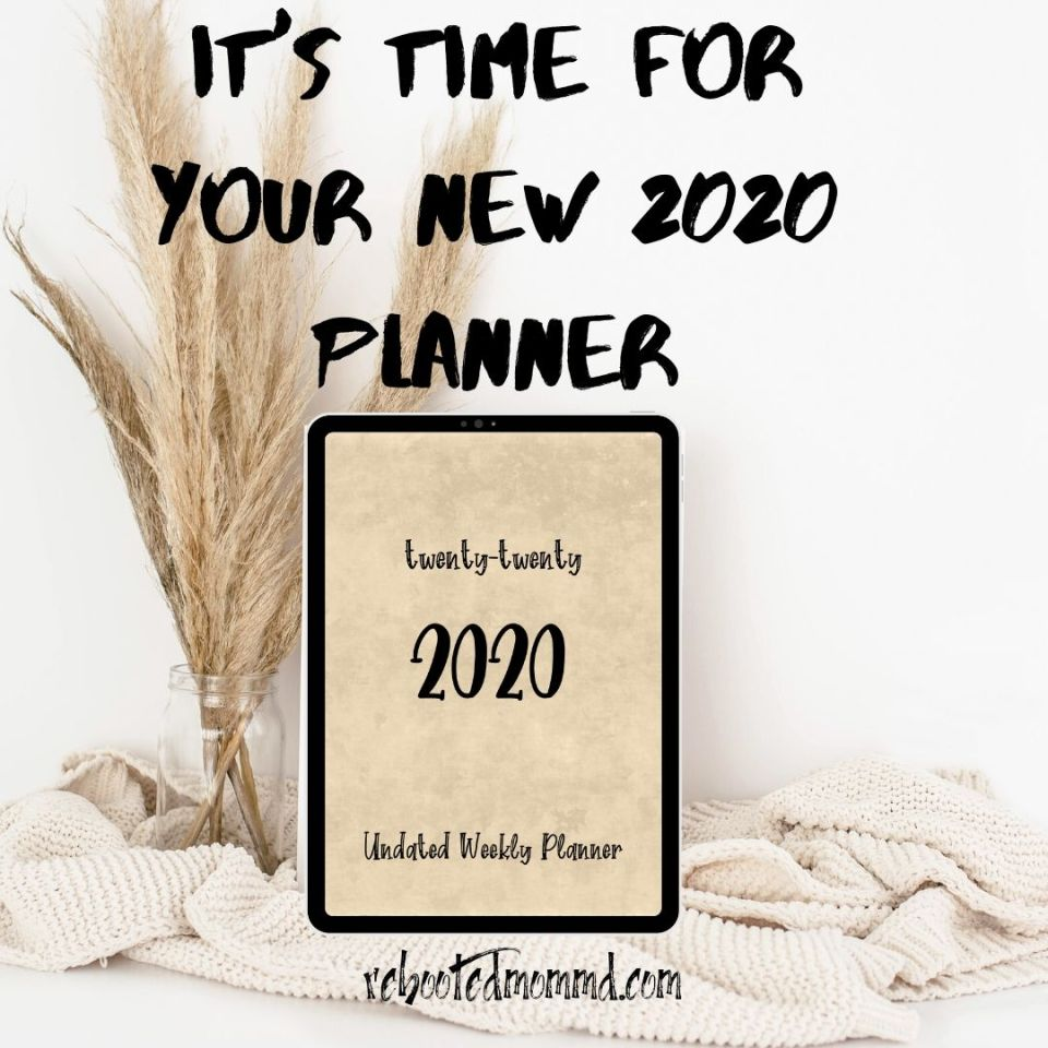 2020 planners journaling