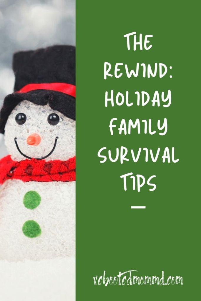 holiday stress survival