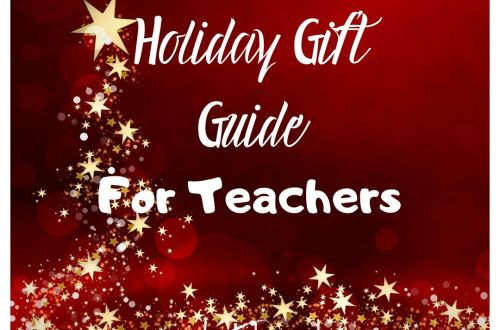 holiday gift guide teacher