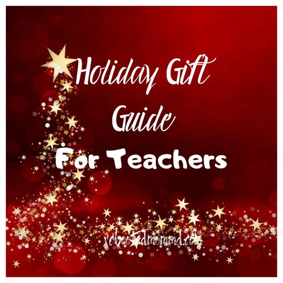 holiday gift guide teacher