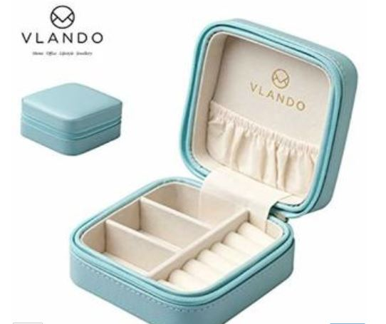 Vlanda Travel Jewelry Box