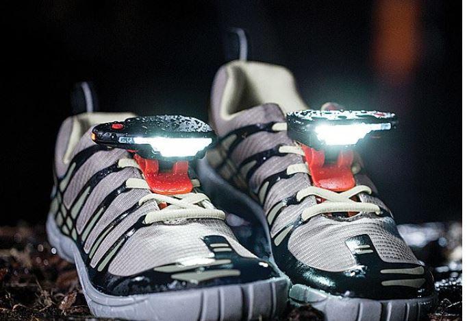 night runner shoe headlamp