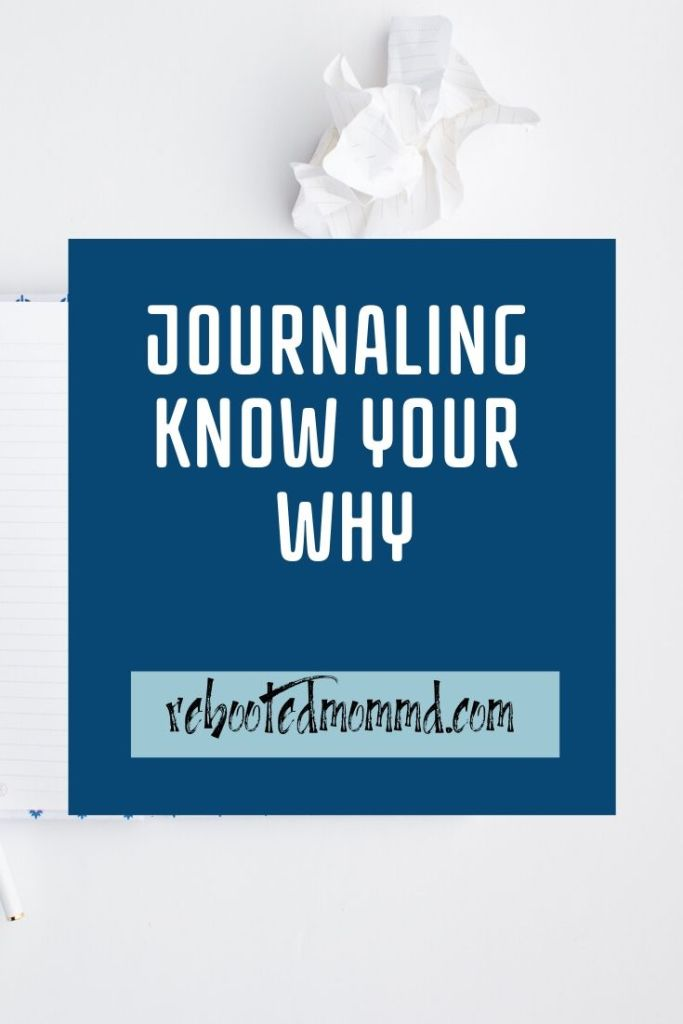 journal know your why