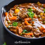 southern slow-cooked beef stew