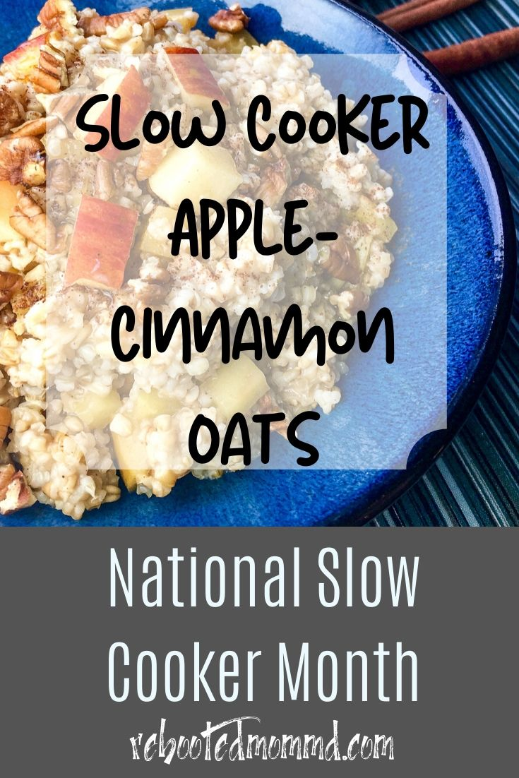 National Gluten-Free Day: Slow Cooker Apple-Cinnamon Oats