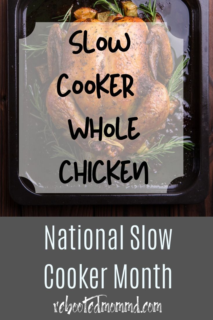 What Can You Do with a Whole Chicken and A Slow Cooker? A Lot Actually…