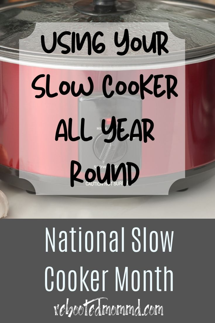 Using Your Slow Cooker Year Around