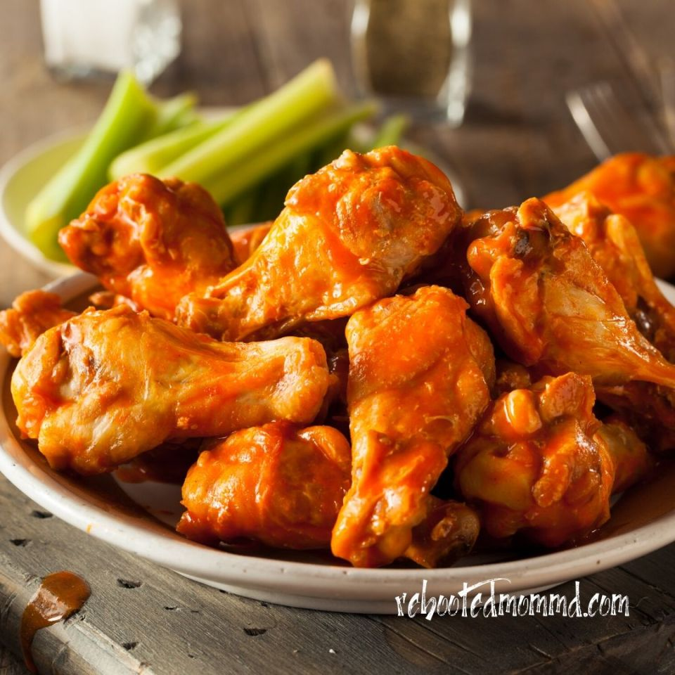 party appetizers wings