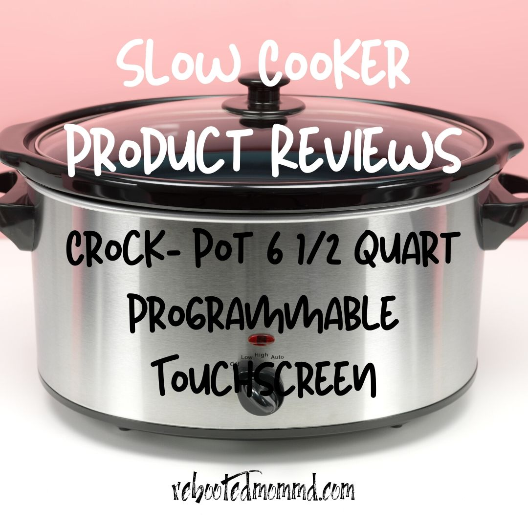 slow cookers crock-pot touchscreen