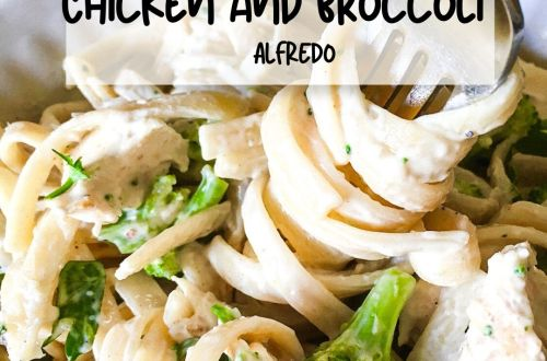Creamy Chicken and Broccoli Alfredo