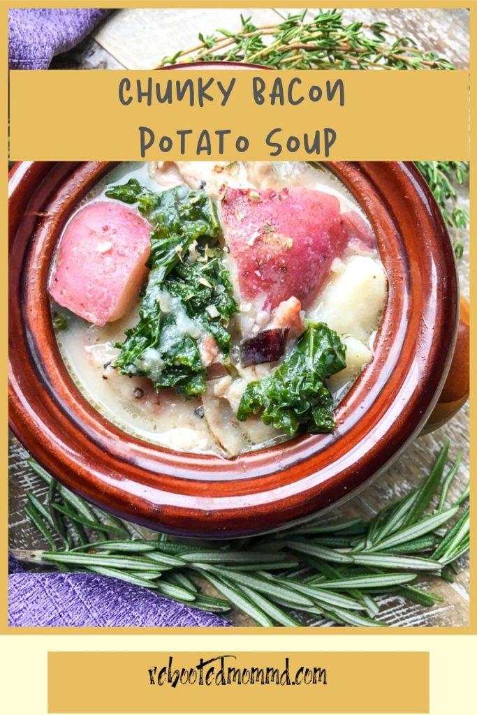 chunky bacon potato soup