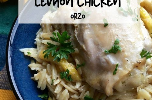 lemon chicken orzo