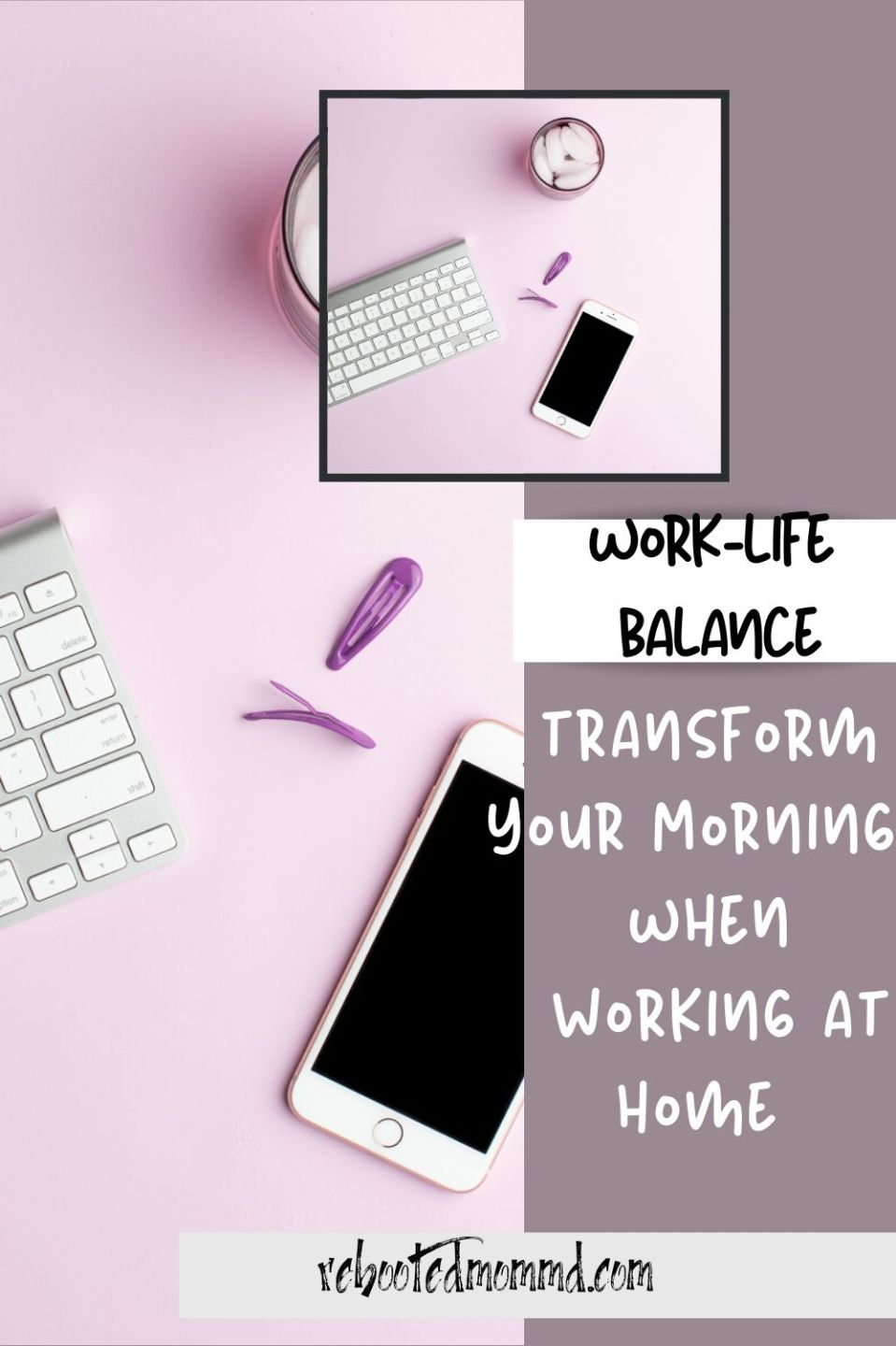 Change Up Your Mornings for a Healthy Work/Life Balance
