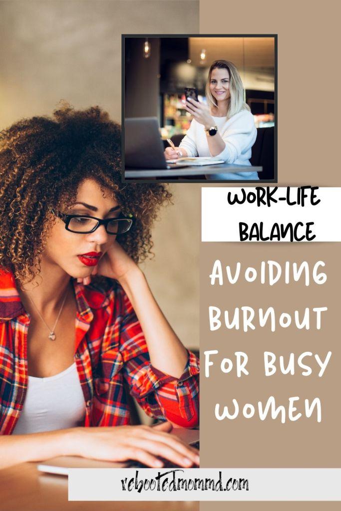 busy woman burnout